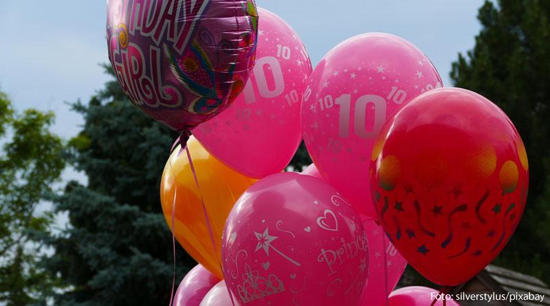 Luftballons - Bild zum Beitrag Kindergeburtstag - die besten Tipps