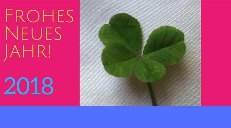 Vierblättriges Kleeblatt bringt Glück fürs neue Jahr: Tipps zum Einhalten für gute Vorsätze